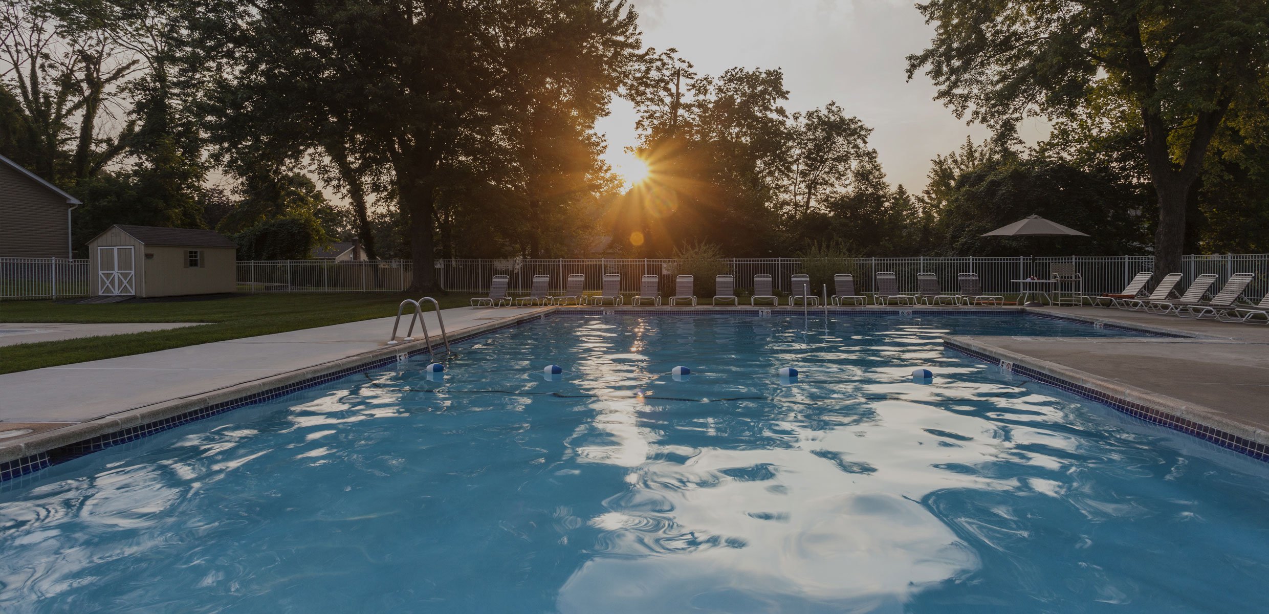 Pool at Mill Grove Apartments
